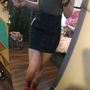 Mini free people skirt